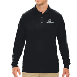 AFS Pinnacle Performance L/S Piqué Polo