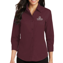 Assoc. Ladies 3/4 Sleeve Easy Care Shirt