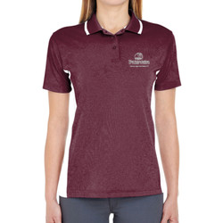 Assoc. Ladies' Color Block Wicking Polo